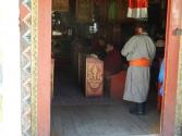 Karakorum, mnisi w klasztorze
