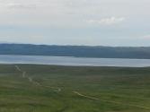 Widok na jezioro Ogi Nur