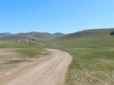 To typowy widok na naszej wyprawie; po widnokrąg nitki dróg i rzek
