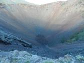 Wulkan Khorgo. Ostatnia erupcja była 8 tysięcy lat temu, ale okolica wygląda jakby to było parę lat temu