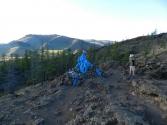 OWO na szczycie wulkanu Khorgo