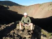 Artur na szczycie wulkanu