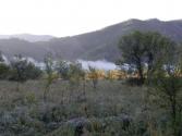 Mgły o poranku nad rzeką Eg