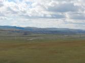 Miasto Erdenet, drugie co do wielkości po Ułan Bator. Ośrodek wydobycia i przetwórstwa miedzi i molibdenu