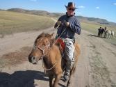 Krzysiek kowboj Mongolskich stepów.