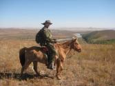 Mongolię najlepiej oglądać z końskiego grzbietu
