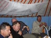 Ale puki co Batar zrobił tradycyjne mongolskie pierogi z baraniny, chyba widać jak smakowały