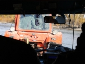 Naszego uaza białoruski traktor przeciągnął na linie