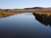Rzeka Onon, to tutaj tajmienie łowił Dżyngis Chan