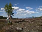 Tuwa- krajobra. Mongolia Bolka Uryna.