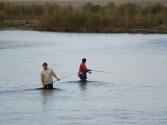 To nieprawda, że Mongołowie nie łowią. Ci przyjechali z Ułan Bator na weekend