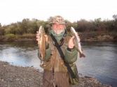 W rzece Balcz było sporo pstrągów