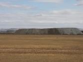 Hałdy przemysłowe w okolicy Ułan-Bator. Mongolia, Chentej 2010