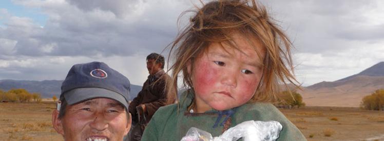 Ludzie w Mongolii