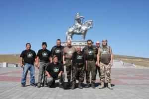 Uczestnicy Chentej 2010 Mongolia