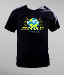 "Koszulka na wyprawę do Mongolii ""Selenge 2009″"