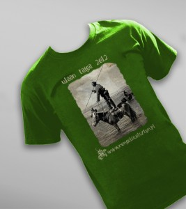 Koszulka z wyprawy Changaj 2012